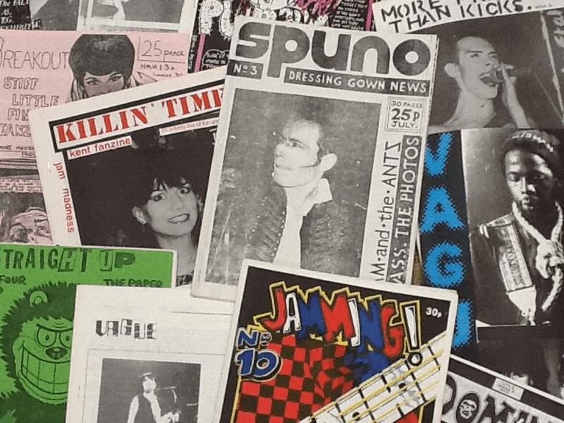 A selection of UK Fanzines