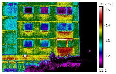 Property before energy efficiency measures installed.