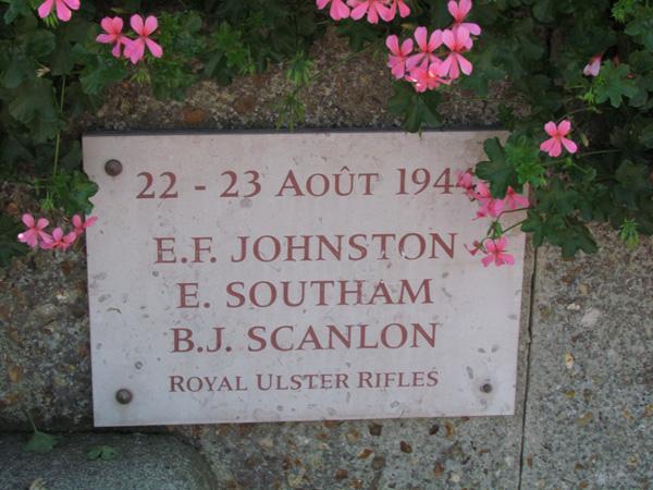 Brithdir WW2 SouthamE plaque